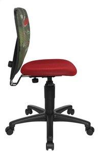 Topstar chaise de bureau pour enfants Nic foot rouge/vert-Côté gauche