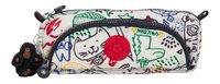 Kipling pennenzak Cute Doodle Play Bl-Vooraanzicht