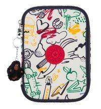 Kipling pennenzak 100 Pens Doodle Play Bl-Vooraanzicht