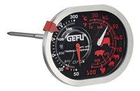 Gefu Braad- en oventhermometer 3-in-1 Messimo inox/inoxlook-Vooraanzicht