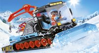 PLAYMOBIL Family Fun 9500 Agent avec chasse-neige-Image 1