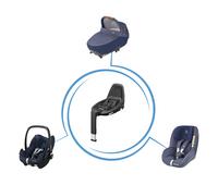 Maxi-Cosi Draagbare autostoel Pebble Pro i-Size sparkling blue-Afbeelding 1