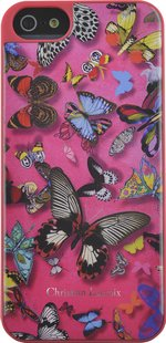Backcover voor iPhone 5/5S/SE Butterfly Christian Lacroix roze