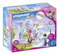 PLAYMOBIL Magic 9471 Kristallen poort naar Winterland-Linkerzijde