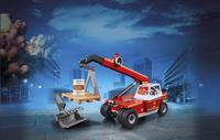 PLAYMOBIL City Action 9465 Pompier avec véhicule et bras télescopique-Image 1