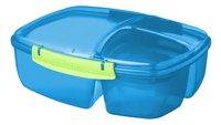 Sistema lunchbox Trends Triple Split bleu-Côté droit