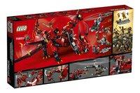 LEGO Ninjago 70653 Le dragon Firstbourne-Arrière