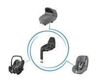 Maxi-Cosi Siège-auto portable Pebble Pro i-Size sparkle grey-Image 1