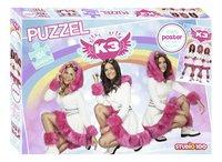 Puzzel K3 Dromen met poster-Vooraanzicht