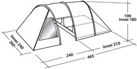 Easy Camp tent Galaxy 400-Artikeldetail