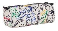 Kipling pennenzak Cute Doodle Play Bl-Achteraanzicht