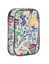 Kipling pennenzak 100 Pens Doodle Play Bl-Achteraanzicht