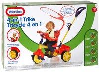 Little Tikes driewieler 4-in-1 blauw/geel/rood-Vooraanzicht