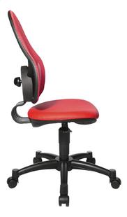 Topstar chaise de bureau pour enfants Open Art Junior rouge-Côté gauche