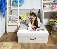 Lit surélevé avec fauteuil-lit/bureau Trendy-Image 2
