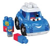 Mega Bloks First Builders Lil' Vehicles Peter La voiture de police-Avant