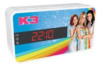 bigben Wekkerradio K3 blauw-Linkerzijde