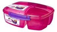 Sistema lunchbox Trends Triple Split rose-Côté droit