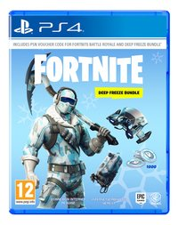 PS4 Fortnite Code Deep Freeze Bundle FR/NL-Avant