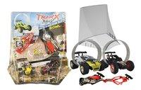 Trixx 360° voitures acrobatiques Stuntcars noir/jaune - 2 pièces-Détail de l'article
