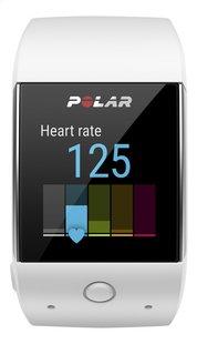 Polar Cardiofréquencemètre GPS et montre connectée M600 blanc-Avant