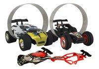 Trixx 360° voitures acrobatiques Stuntcars noir/jaune - 2 pièces-Avant