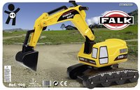 Falk loopwagentje Power Shift Excavator-Vooraanzicht