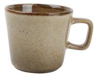 Ona 4 tasses à café Element Ø 8,5 cm brun-Avant