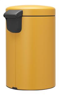 Brabantia Pedaalemmer newIcon mineral mustard yellow 12 l-Achteraanzicht