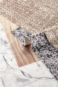 Day Drap Set de table Non-slip marble gris L 45 x Lg 32 cm - 2 pièces-Détail de l'article
