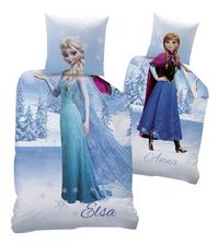 Dekbedovertrek Disney Frozen Anna/Elsa omkeerbaar flanel 140 x 200 cm-Vooraanzicht