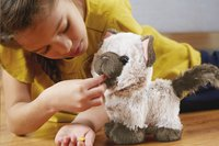 FurReal peluche interactive Kami mon chaton qui fait popo-Image 3