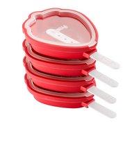 Lékué Moule à glace Fraise rouge - 4 pièces-commercieel beeld