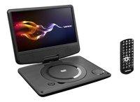 Lenco draagbare DVD-speler DVP-9331 9/ zwart-Linkerzijde