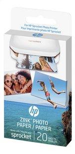 HP Sprocket recharge de papier photo Zink - 20 pièces-Côté droit