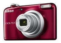 Nikon digitaal fototoestel A10 rood-Rechterzijde
