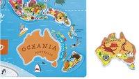 Tableau magnétique carte du monde ANG-Détail de l'article