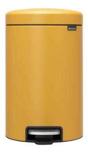 Brabantia Pedaalemmer newIcon mineral mustard yellow 12 l-Vooraanzicht