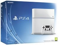 PS4 console 500 GB wit-Vooraanzicht