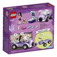 LEGO Friends 41360 Emma's mobiele dierenkliniek-Achteraanzicht