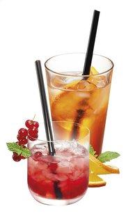 Gefu 4 cocktailrietjes Future met reinigingsborsteltje-Artikeldetail