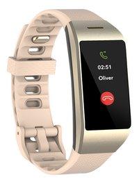 MyKronoz smartwatch ZeNeo Pink Gold-Linkerzijde