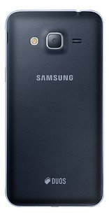 Samsung Smartphone Galaxy J3 2016 zwart-Achteraanzicht