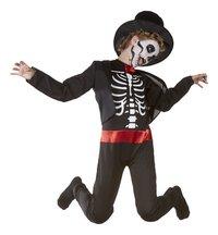 Déguisement de squelette de magicien taille 146-Détail de l'article