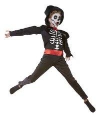 Déguisement de squelette de magicien taille 128