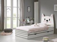 Opberglade voor bed beer/Konijn/Kat wit-Afbeelding 3