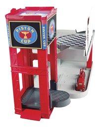 Garage Disney Cars Piston Cup Racing-Achteraanzicht