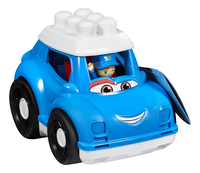 Mega Bloks First Builders Lil' Vehicles Peter La voiture de police-Côté gauche