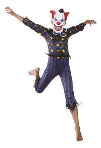 Déguisement de clown diabolique taille 164-Image 1