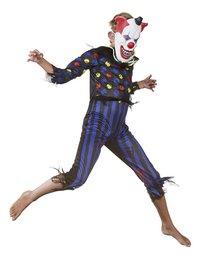 Déguisement de clown diabolique taille 146-Image 2
